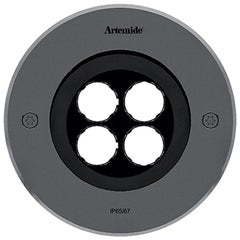 Artemide Ego 150 Round Downlight in Stainless Steel by Ernesto Gismondi