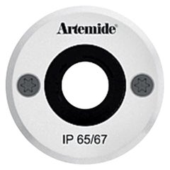 Artemide Ego 55 Round 14° Downlight in Aluminium by Ernesto Gismondi