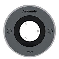 Artemide Ego 90 Round 10° Downlight in Stainless Steel by Ernesto Gismondi