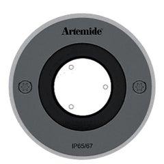 Artemide Ego 90 Round 24° Downlight in Stainless Steel by Ernesto Gismondi