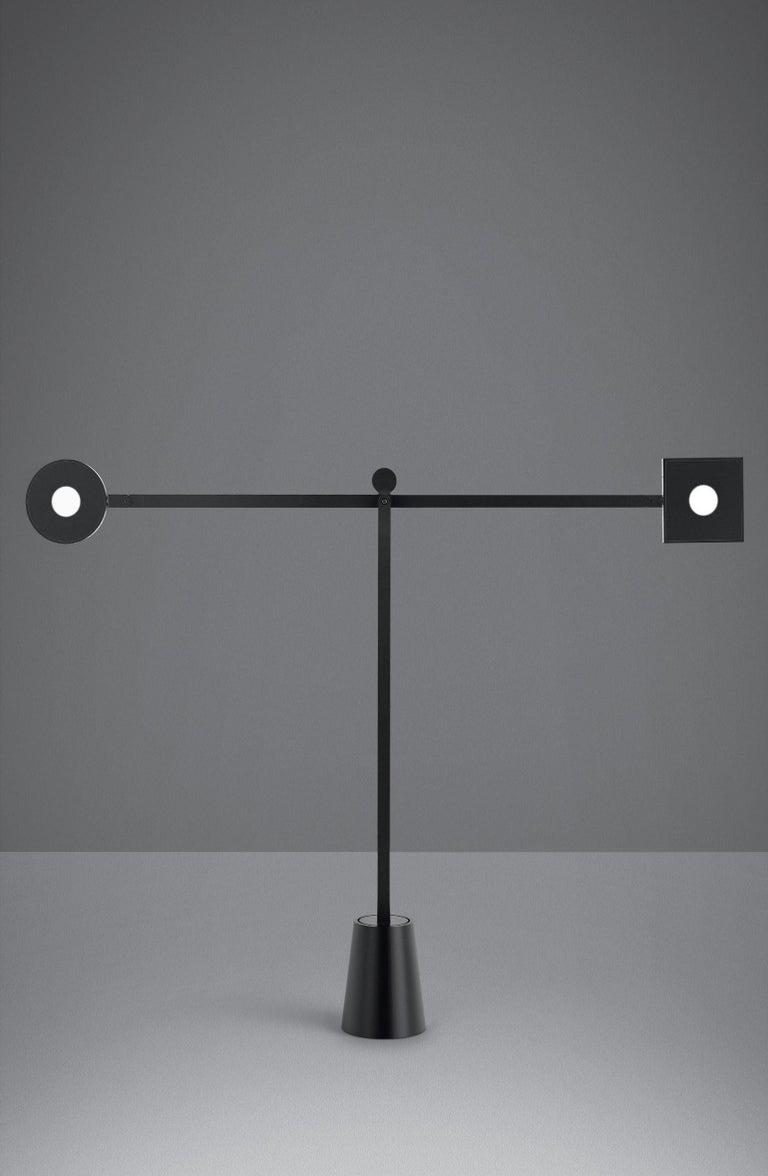 Modern Artemide Equilibrist LED Table Lamp by Jean Nouvel For Sale
