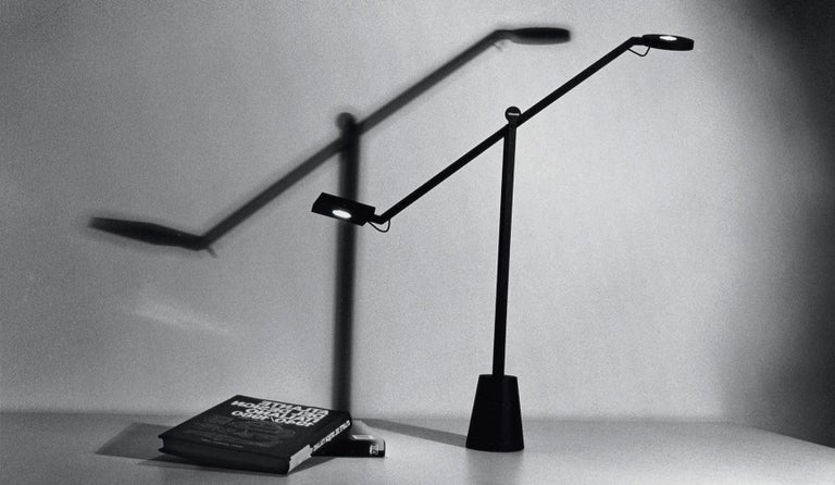 Italian Artemide Equilibrist LED Table Lamp by Jean Nouvel For Sale
