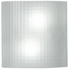 Artemide Facet Wall Light in White Grid by Ron Rezek