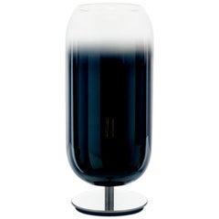 Artemide Gople Mini Max 7W E12 Table Lamp in Blue by Bjarke Ingels Group