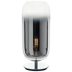 Artemide Gople Mini Max 7W E12 Table Lamp in Silver by Bjarke Ingels Group