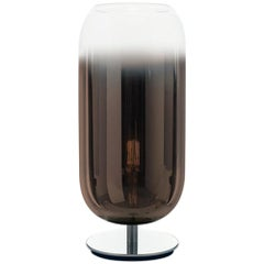 Artemide Gople Mini Max 7W E12 Table Lamp Max in Bronze  by Bjarke Ingels Group