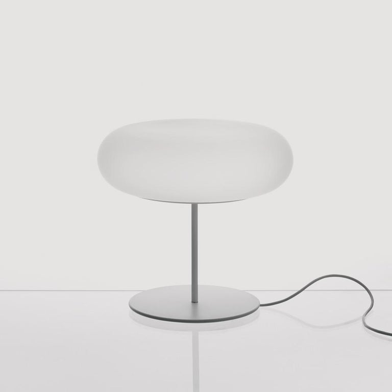 Modern Artemide Itka Table Light in White by Naoto Fukasawa For Sale