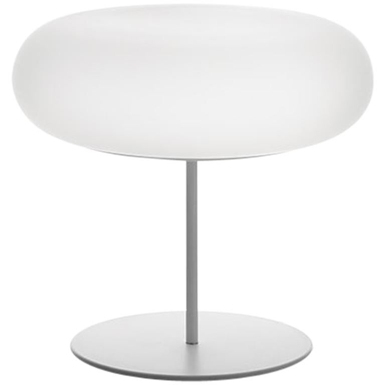 Artemide Itka Table Light in White by Naoto Fukasawa For Sale