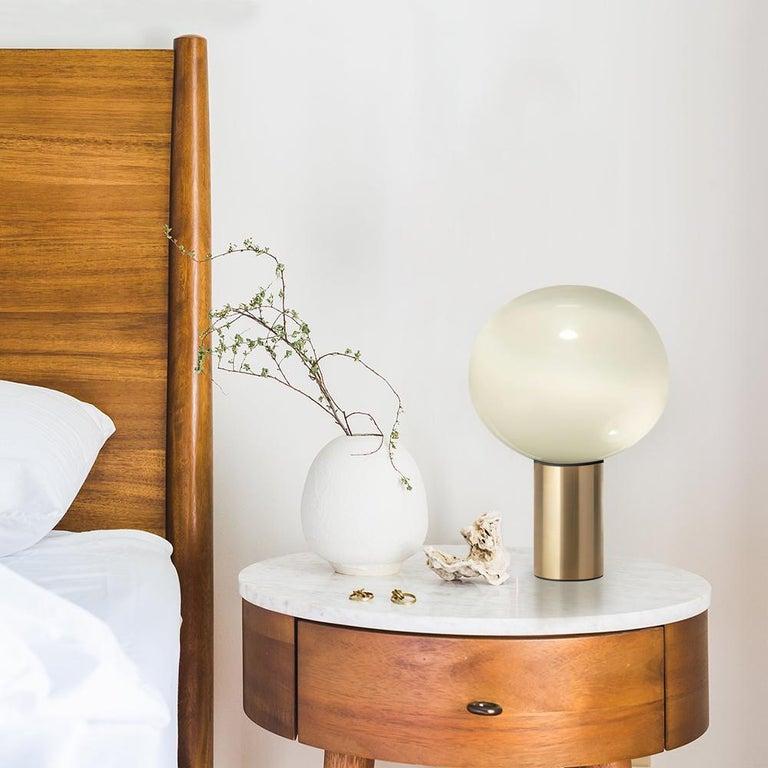 Glass Artemide Laguna 37 E16 Table Lamp in Gold by Matteo Thun For Sale