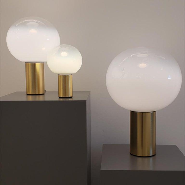 Artemide Laguna 37 E16 Table Lamp in Gold by Matteo Thun For Sale 1