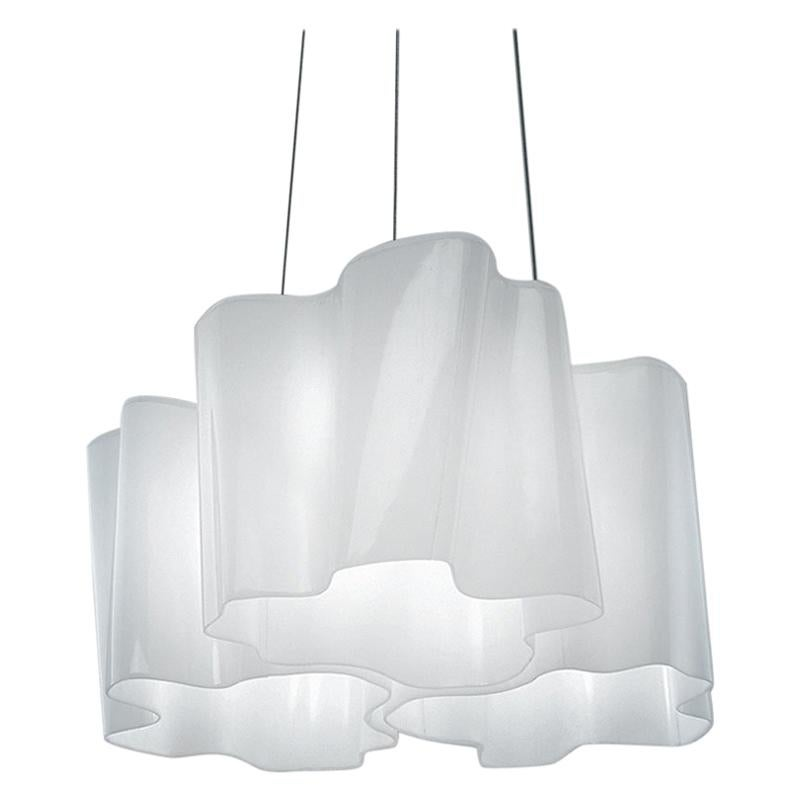Artemide Logico E26 Triple Nest Pendant Light, Extension by Michele De Lucchi