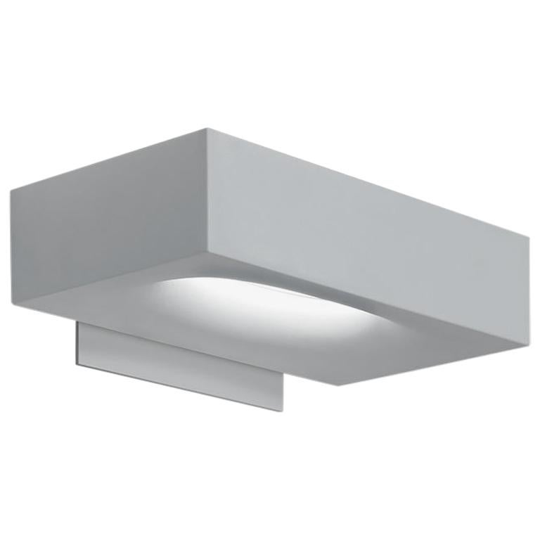 Artemide Melete Dimmable Led Wall Light in White by Pio & Tito Toso For Sale