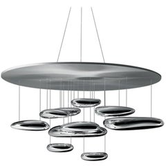 Artemide Mercury Dimmable Led Pendant Light by Ross Lovegrove