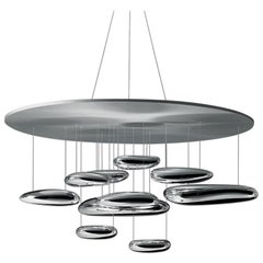 Artemide Mercury Dimmable LED Pendant Light with Extension, Ross Lovegrove