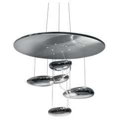 Artemide Mercury Mini Dimmable LED Pendant Light with Extension, Ross Lovegrove