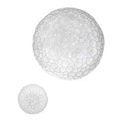 Artemide Meteorite 35 E26 Wall & Ceiling Light in White by Pio & Tito Toso