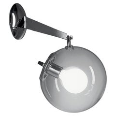 Artemide Miconos E26 Wall Light in Chrome by Ernesto Gismondi