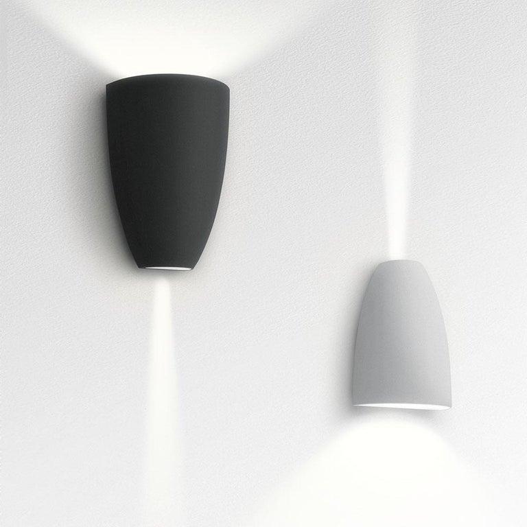 Modern Artemide Molla 3000K Wall Light in White For Sale