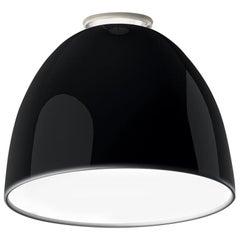 Artemide Nur 150W E26/A19 Ceiling Light in Glossy Black