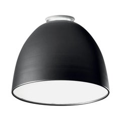 Artemide Nur 150W E26 or A19 Ceiling Light in Anthracite Grey