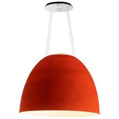 Artemide NUR 1618 Acoustic LED Suspension 19 Ft. Extended Light in Red