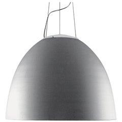 Artemide Nur 1618 LED Suspension Light in Aluminum