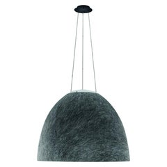 Artemide Nur Acoustic LED Pendant Light in Dark Grey by Ernesto Gismondi