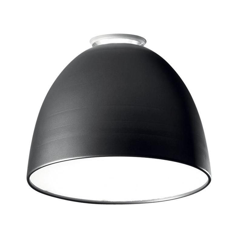 Artemide Nur LED 3000K Ceiling Light in Anthracite Grey