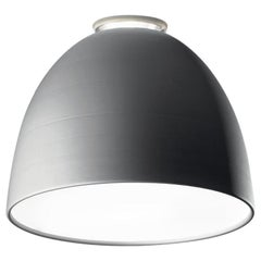Artemide Nur Led Dimmable Ceiling Light in Aluminum by Ernesto Gismondi