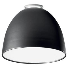 Artemide Nur Led Dimmable Ceiling Light in Anthracite Grey by Ernesto Gismondi