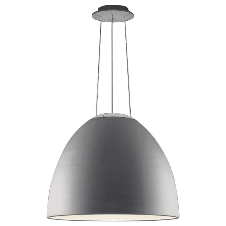 Artemide Nur LED Dimmable Pendant Light in Aluminum by Ernesto Gismondi For Sale