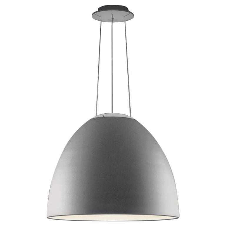 Artemide Nur LED Dimmable Pendant Light in Anthracite Grey by Ernesto Gismondi  For Sale