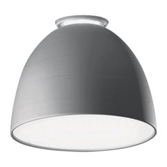 Artemide Nur Mini Ceiling Light in Aluminum