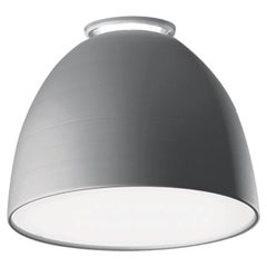 Artemide Nur Mini LED Dimmable Ceiling Light in Aluminum by Ernesto Gismondi