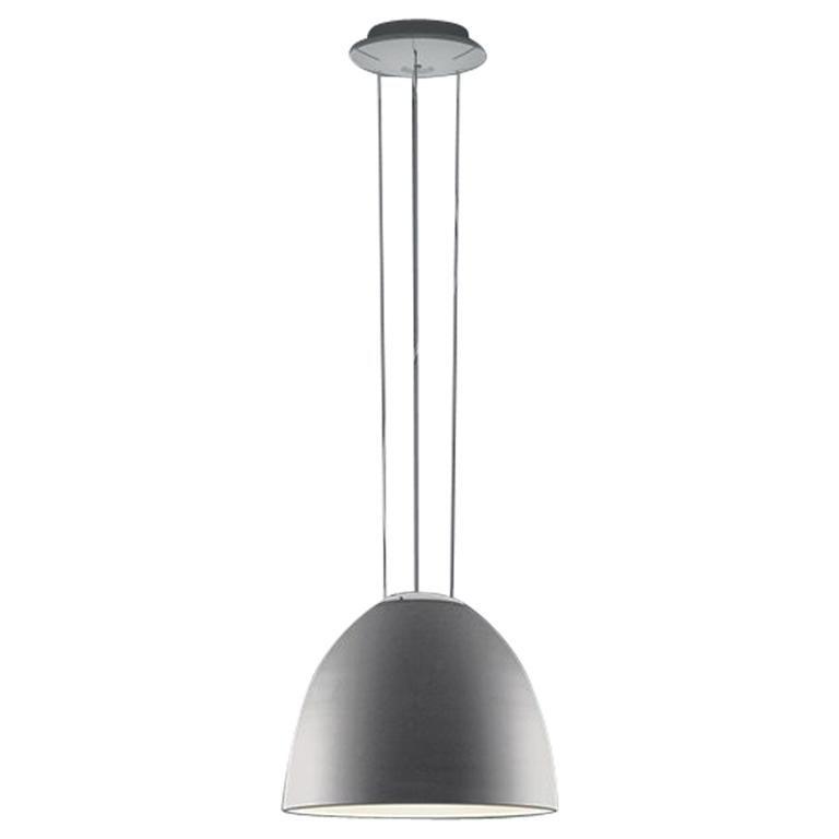 Artemide Nur Mini LED Dimmable Pendant Light in Aluminum by Ernesto Gismondi For Sale