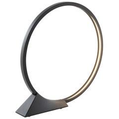 Artemide 'O' Outdoor Floor Lamp in Black Die-cast Aluminium by Elemental