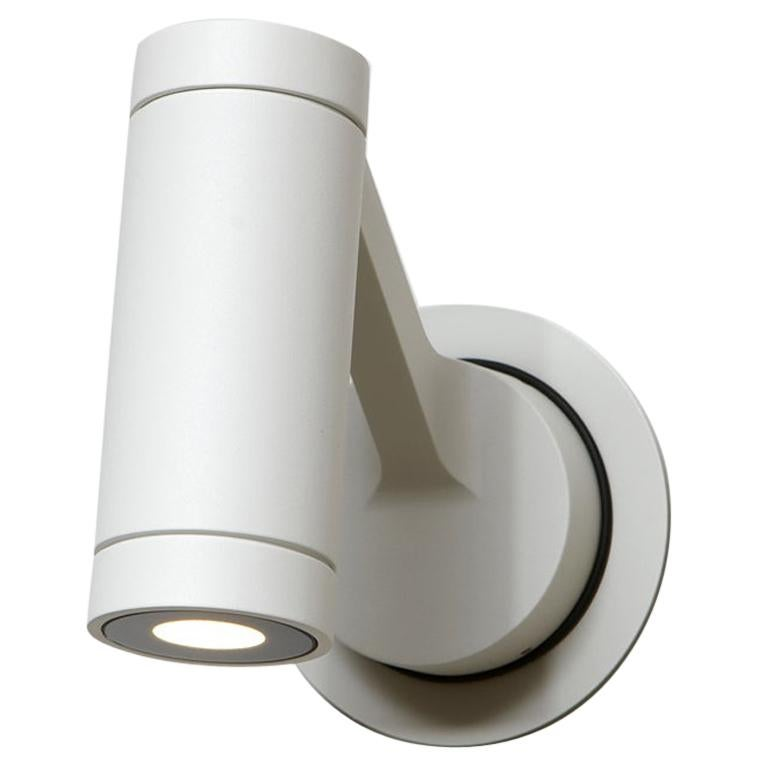 Artemide Obice 18°LED Wall Light in White by Alessandro Pedretti For Sale