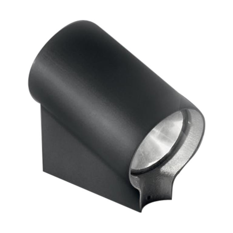 Artemide Oblique LED Ground Light in Anthracite Gray by Arik Levy