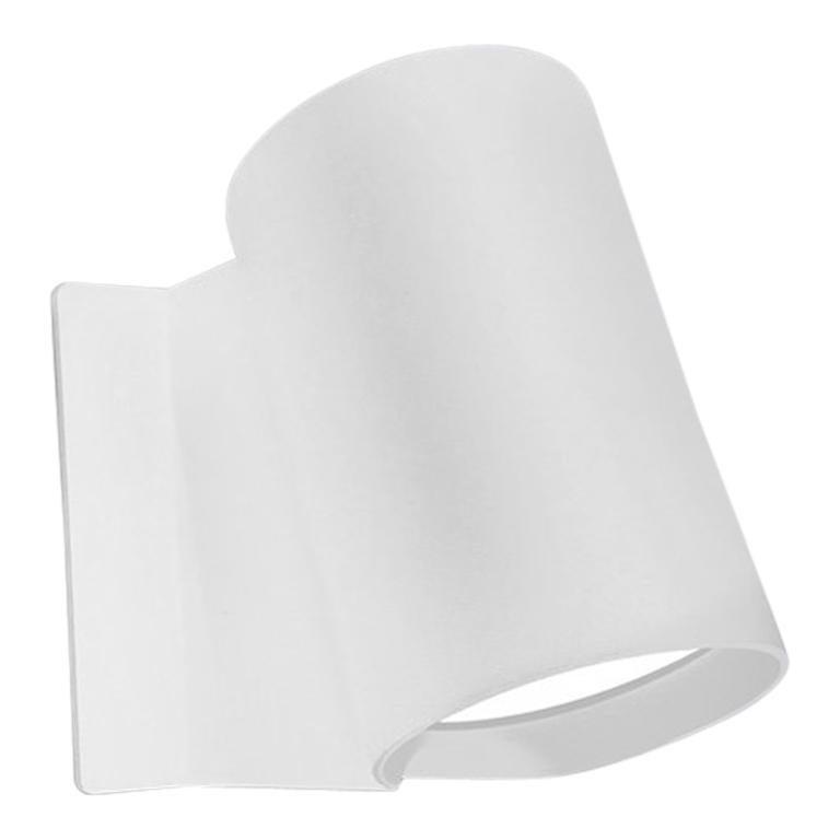Artemide Oblique LED Wall Light in White For Sale