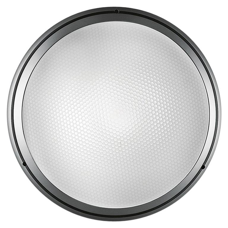 Artemide Pantarei 190 Wall and Ceiling Light in Silver