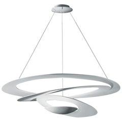 Artemide Pirce Dimmable Led Pendant Light in White, Extension by Giuseppe Mauri