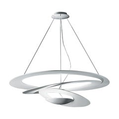Artemide Pirce LED Suspension Light with Dimmer in White