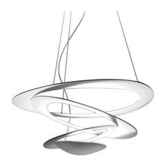 Artemide Pirce Mini 3000K LED Suspension Light with Dimmer in White
