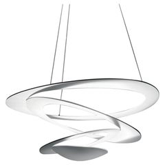 Artemide Pirce Mini Dimmable LED Pendant Light in White by Giuseppe Maurizio