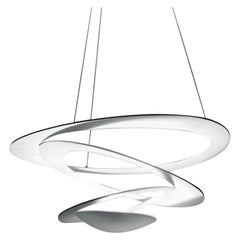 Artemide Pirce Mini Dimmable Led Pendant Light in White, Extension by Giuseppe