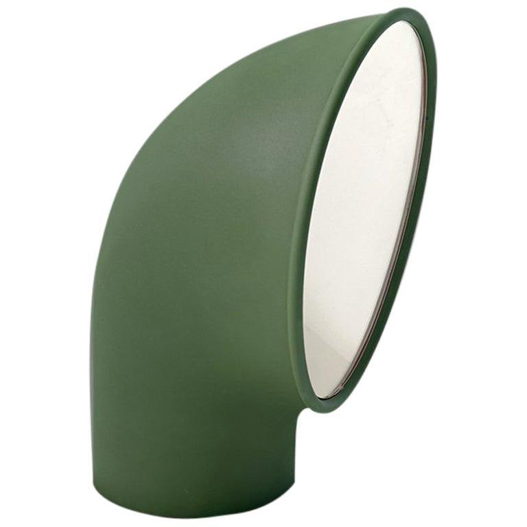 Artemide Piroscafo LED Floor Light in Green by Ernesto Gismondi For Sale