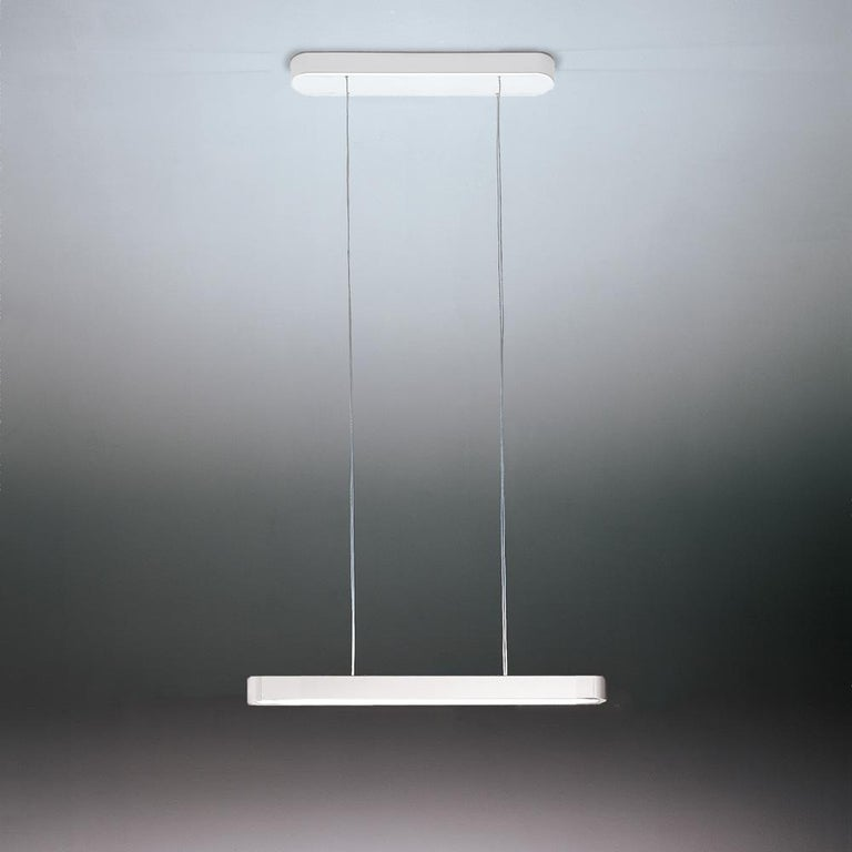 Talo's sleek aluminum body complements any interior with a subtle contemporary touch, whether residential or commercial. Its wide variety of sizes makes it perfect for almost any lighting need, providing both direct and indirect energy-efficient LED