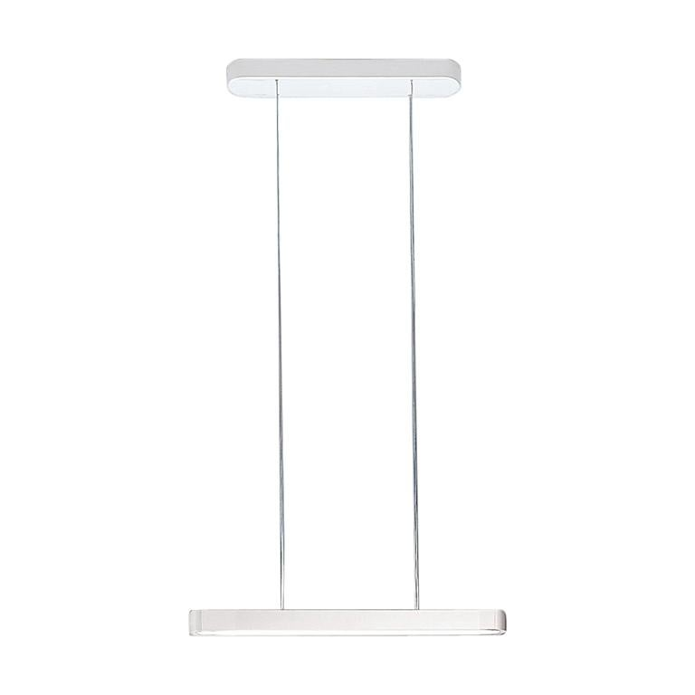 Artemide Talo 120 LED Suspension Light with Dimmer in White For Sale
