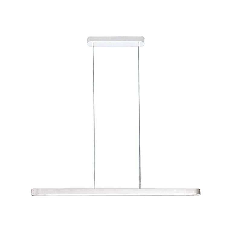 Artemide Talo 150 LED Suspension Light with Dimmer in Silver For Sale