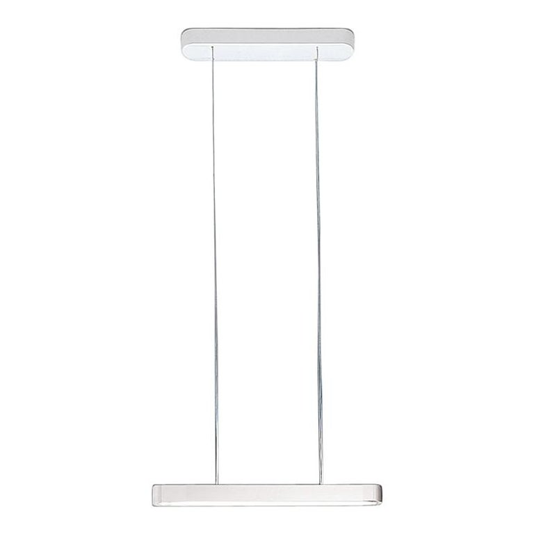 Artemide Talo 90 LED Suspension Light with Dimmer in White For Sale